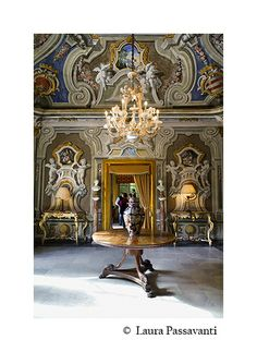 Villa Niscemi, interno Palermo    #TuscanyAgriturismoGiratola