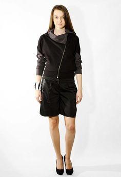 529255d2dfb9 Čierna mikina na zips (M052N1)   Zboží prodejce dressign