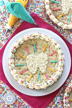 "Erica's Sweet Tooth  » ""Sweet Tooth"" Funfetti Cookie Cake"