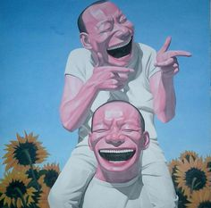 Grinning Self Portraits - The Art of Yue Minjun