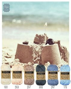 sandcastles - Scheepjes Catona