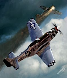 "American WW2 ""p 51Mustang"""