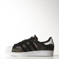 adidas superstar w schuhe schwarz