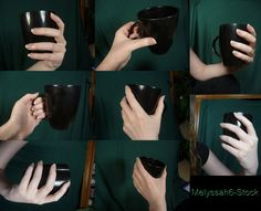 Hand Pose Stock - Holding Mug by ~Melyssah6-Stock on deviantART