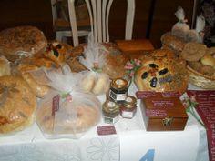 Exposición y venta Panes integrales Amasado