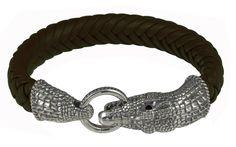 Show details for Baldessarini Sterling Silver Mens Designer Bracelet Y2027B/90/13/23