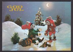 Valgt bilde Troll, Christmas Cards, Auction, Manga, Illustration, Painting, Art, Pictures, Christmas E Cards