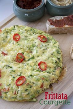 Clean Recipes, Diet Recipes, Vegetarian Recipes, Healthy Recipes, Tasty Dishes, Food Dishes, Alive And Cooking, Vegetable Pizza, Good Food