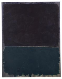 MARK ROTHKO, 1903 - 1970, UNTITLED oil on paper laid on canvas 52 x 40 1/2 in. 132 x 102.1 cm. Executed in 1969.