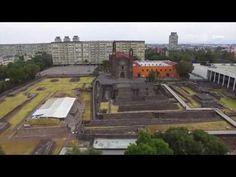 El México antiguo en las ciudades. Plaza de las Tres Culturas Tlatelolco