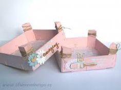 Resultado de imagen de manualidades con cajas de fresas