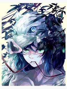 Demon Slayer Inosuke Poster