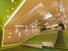 Lecture halls at Silesian University of Tech in Poland