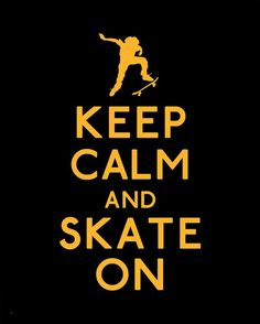 yes keep. calm!!!