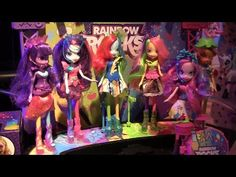 My Little Pony Equestria Girls 2 Rainbow Rocks toys revealed at Toy Fair...