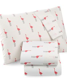 Martha Stewart Whim Collection Novelty Print Cotton Percale Twin XL Sheet Set, Only at Macy's