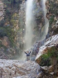 Waterfall at #vogelgat #hermanus.  Breathtakingly beautiful!