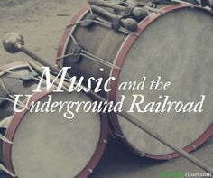 How did music play a part in the Underground Railroad? How did slaves express forbidden feelings and desires, such as anger, resentment, or a longing for freedom?These are the essential questions explored in this short unit, which was taught in collaborat Music Lesson Plans, Music Lessons, Middle School Music, Black History Books, Underground Railroad, Music Classroom, Classroom Ideas, Music Teachers, Future Classroom