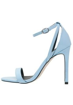 SIMONE - High Heel Blue Sandals