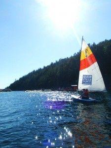 Sailing at Keats Youth Camp, Sailing, Boat, Activities, Summer, Candle, Dinghy, Summer Time, Summer Recipes