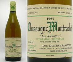 """Chassagne Montrachet """"Les Ruchottes"""" 1995"""