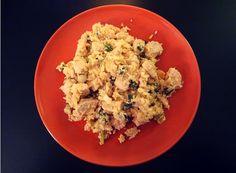 Gebratener (Blumenkohl-) Reis