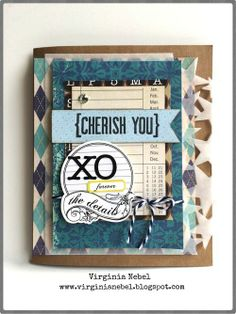 "Scrapbook & Cards Today Blog: Add ""star"" quality to your Father's Day card with Virginia Nebel!"