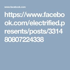 https://www.facebook.com/electrified.presents/posts/331480807224338