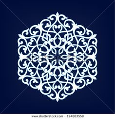 Arabesque decor. Mandala. Vector Illustration. - stock vector