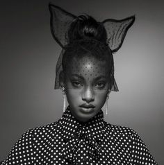 "55a4eebbf4b midnight-charm  "" Willow Smith photographed by Inez Van Lamsweerde    Vinoodh Matadin for Vogue Paris December 2016   January 2017 photography  Stylist  ..."