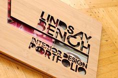 Custom Bamboo Interior Design Portfolio Book