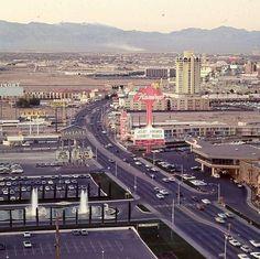 Vintage Las Vegas — Caesars Palace & Flamingo. Las Vegas, March 1969....