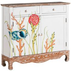 Under the Sea Painted Cabinet: http://www.completely-coastal.com/2016/08/coastal-cabinets-and-chests.html