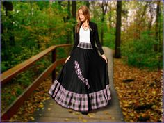 """Купить Стильная теплая юбка """"Вспоминая лето..."""" шерсть. - черный, однотонный, бохо юбка"""