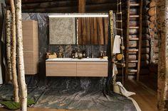 Schweizerbad, Scenery Design: GUSTAVE  #Installation #Stone #Bath #Furniture Stone Bath, Bad, Scenery, Mirror, Architecture, Furniture, Design, Home Decor, Arquitetura