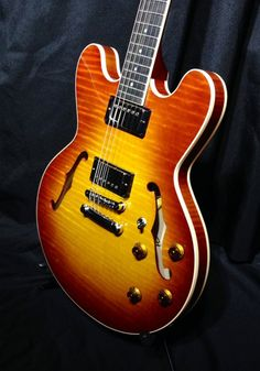 Heritage H-535 Vintage Ice Tea Burst - Music mart