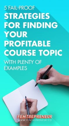 Blogging tips for beginners: Do you want to sell an online course but you're stuck on what it should be about? This blog post is for you! Mariah is breaking down her 5 fail-proof strategies for finding your profitable course topic (with plenty of examples too!)