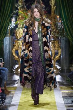 Women's Autumn Winter Collection Fashion Show   -  Roberto Cavalli United States
