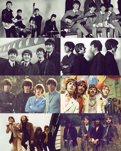 The Beatles! Linha do Tempo.