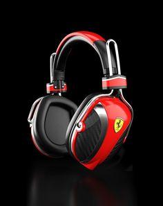Logic3 and Ferrari Collaboration for Headphones  - http://www.technoaddictions.com/uncategorized/logic3-and-ferrari-collaboration-for-headphones/