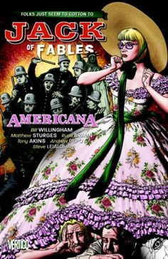 Jack of Fables Vol. 4: Americana