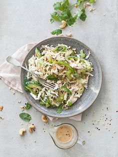 Coronation Chicken Salad. Photo / Annabel Langbein Media