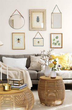 Más de 60 ideas para renovar tu casa con poco dinero Deco Zen, Bohemian Bedroom Design, Sweet Home, Room Pictures, Zara Home, Lofts, Cozy House, Wall Design, Home And Living