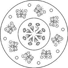 Mandala - Schmetterling