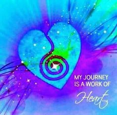 My journey is a work of the Heart