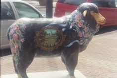 Pittsfield, MA: Sheeptacular event in Downtown Pittsfield, MA. A Mount Greylock sheep.