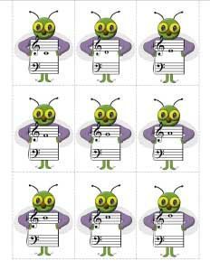 """Swat Game"""" with """"fly"""" flash cards - Susan Paradis Piano Teaching Resources Music Theory Games, Music Games, Music Math, Music Classroom, Piano Games, Piano Music, Piano Classes, Music Worksheets, Piano Teaching"""