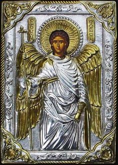 Archangel Michael, Russian icon