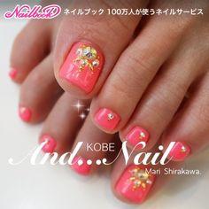 Summer Toe Nails, Kobe, Pedicure, Nail Art, Feet Nails, Ongles, Summery Nails, Summer Toenails, Pedicures