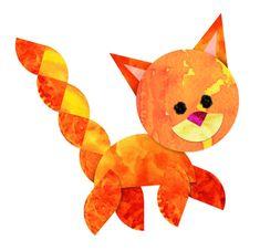 Roylco Fraction Friend Mosaics - Kitten Artwork Design
